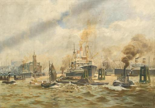 Gustav BURGHARDT - Gemälde