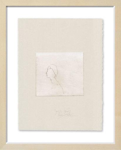 Joseph BEUYS - Print-Multiple - Kleiner Frauenkopf