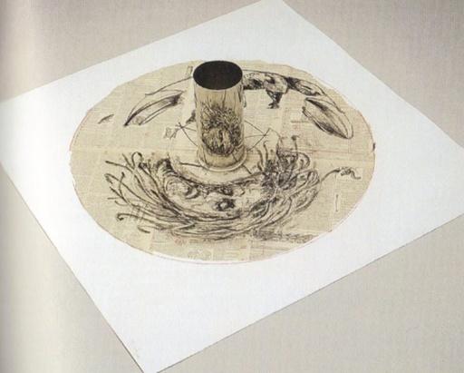 威廉•肯特里奇 - 版画 - Medusa