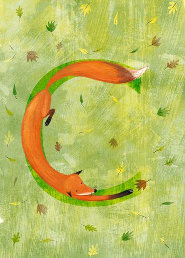 Rocío DEL MORAL - Estampe-Multiple - Animal Alphabet - The letter D    (Cat N° 6177)