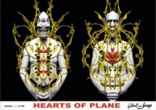 GILBERT & GEORGE - Photography - Hearts of Plane
