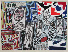 让•杜布菲 - 版画 - Faits Memorables II