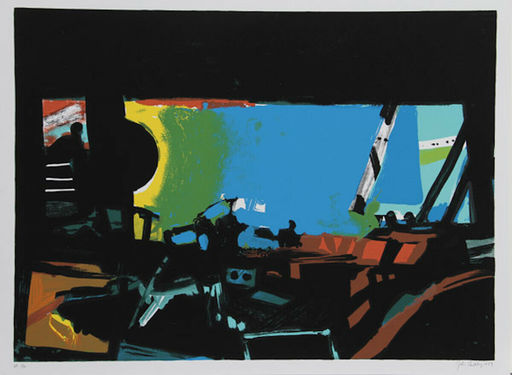 John Philip HULTBERG - 版画 - Wide Window II