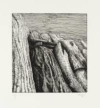亨利•摩尔 - 版画 - Log pile III