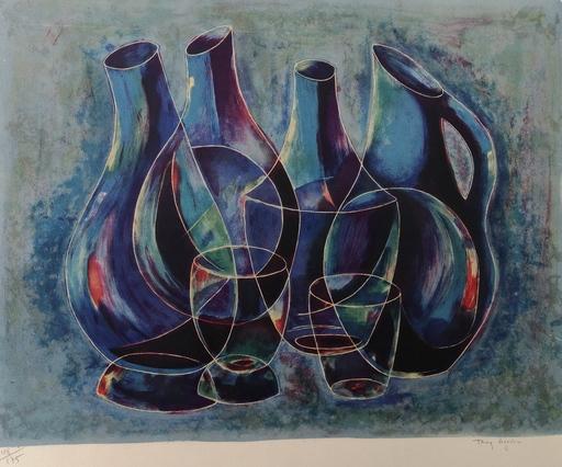 Tony AGOSTINI - Print-Multiple - Verres et Carafes