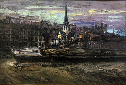 Gilbert PECOUD - Gemälde - Le petit matin