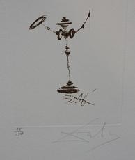 Salvador DALI - Print-Multiple - Symbols Don Quixote