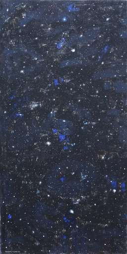 Natale ADDAMIANO - Peinture - Le stelle non amano la città