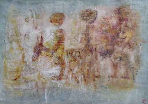 Levan URUSHADZE - Painting - Donkeys