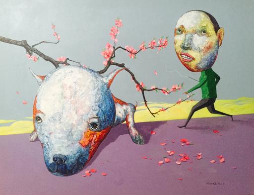 TANG Hai Guo - Peinture - 春游