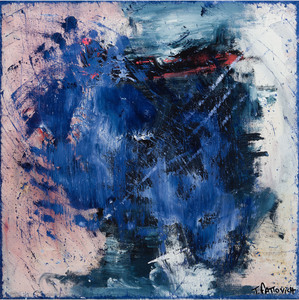 Tommaso FATTOVICH - Painting - Untitled - Blue