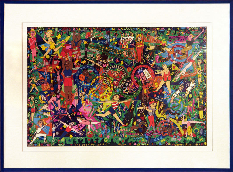James RIZZI - Estampe-Multiple - Olympic Spirit