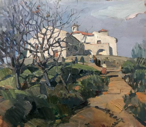 Biagio MERCADANTE - Pintura - Il Santuario dei Cordici, Torraca