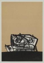Antonio SAURA - Estampe-Multiple - El perro de Goya