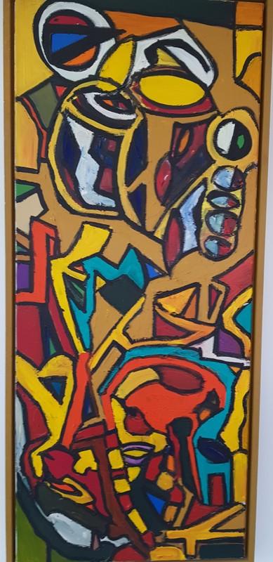 Walter SPRUYT - Pintura - Figures abstraites