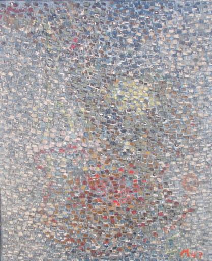 Pierre MANTRA - Pintura - Abstrait