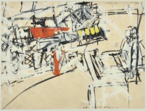 Valerio ADAMI - Painting - Fatto Interno n. 2