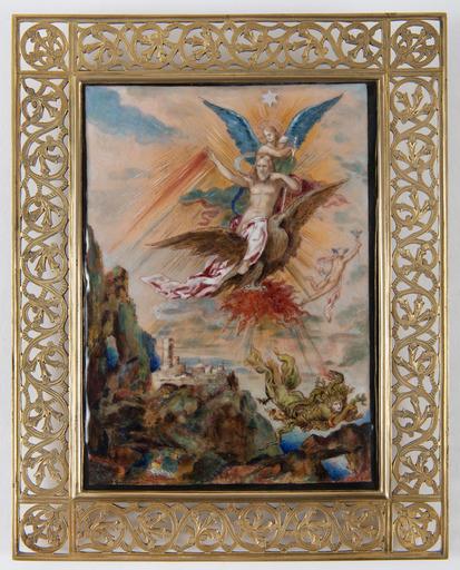 Gustave MOREAU - Sculpture-Volume - La Clémence ou Jupiter et les Tonnerres
