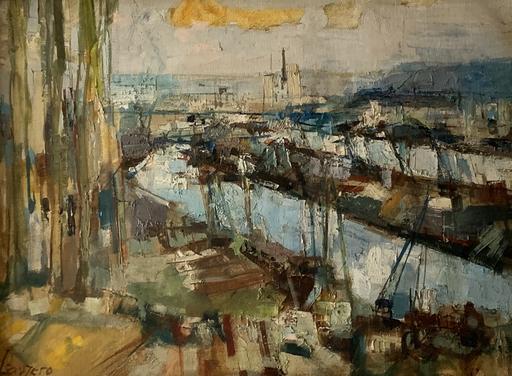 Albert LAUZERO - Gemälde - Marin