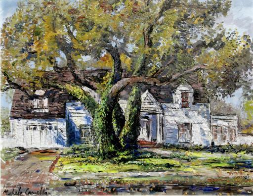 Michele CASCELLA - Pittura - Il Giardino di Carmel