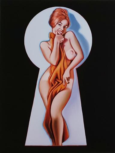 Mel RAMOS - Stampa-Multiplo - Peek-a-Boo (the towel)
