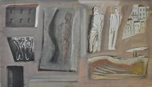 Mario SIRONI - Painting - Composizione