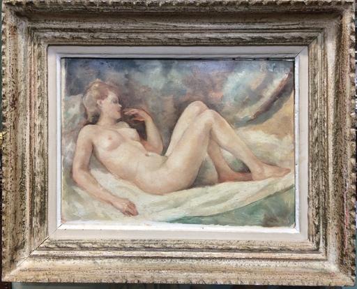 Erwin LANG - Peinture - Ni féminin