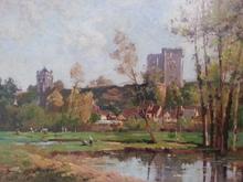Maurice LÉVIS - Pintura - Le Chateau de la Ferté-Milon