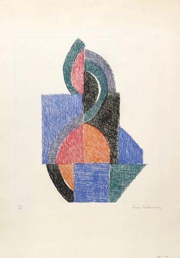 Sonia DELAUNAY - Print-Multiple - Rythme V