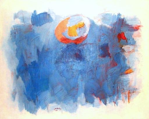 Moshe MOKADY - Gemälde - abstract landscape