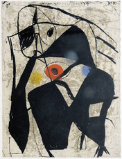 Joan MIRO - Grabado - Comedia dell'arte II