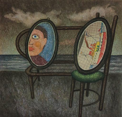 Enrico BENAGLIA - Stampa-Multiplo - Nel profondo della notte