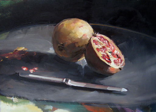 Christoff DEBUSSCHERE - Pintura - Les grenades