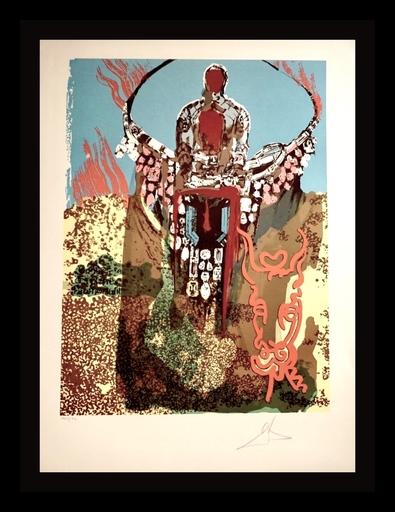 Salvador DALI - Grabado - The Bullfighter (Golden Calf)