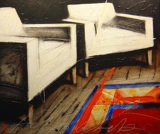 Fabio CALVETTI - Pintura - Come uno spazio interiore