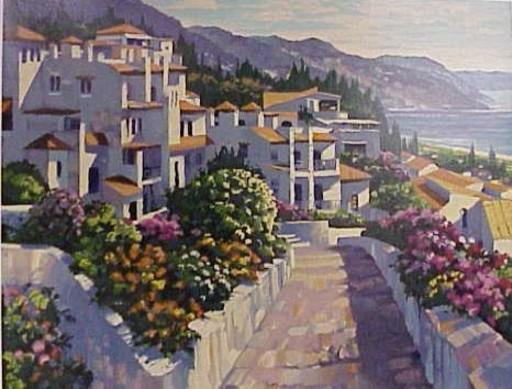 Howard BEHRENS - Print-Multiple - Costa Del So- Mijas