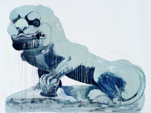 WANG Yuping (1962) - Stone Lion of Bai Ta Si (Male)