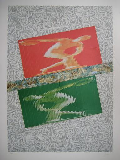 Jiri KOLAR - Druckgrafik-Multiple - LITHOGRAPHIE 1992 SIGNÉE AU CRAYON NUM HANDSIGNED LITHOGRAPH