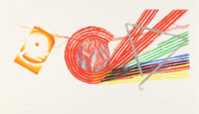 James ROSENQUIST - Stampa Multiplo - Spokes