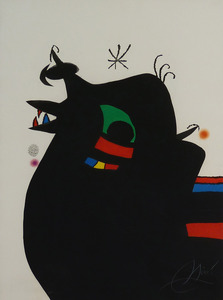 Joan MIRO, The Sargeant