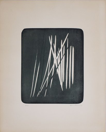 Hans HARTUNG - Print-Multiple - L 1966-13