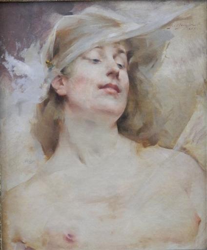Paul François QUINSAC - Peinture - woman in extase