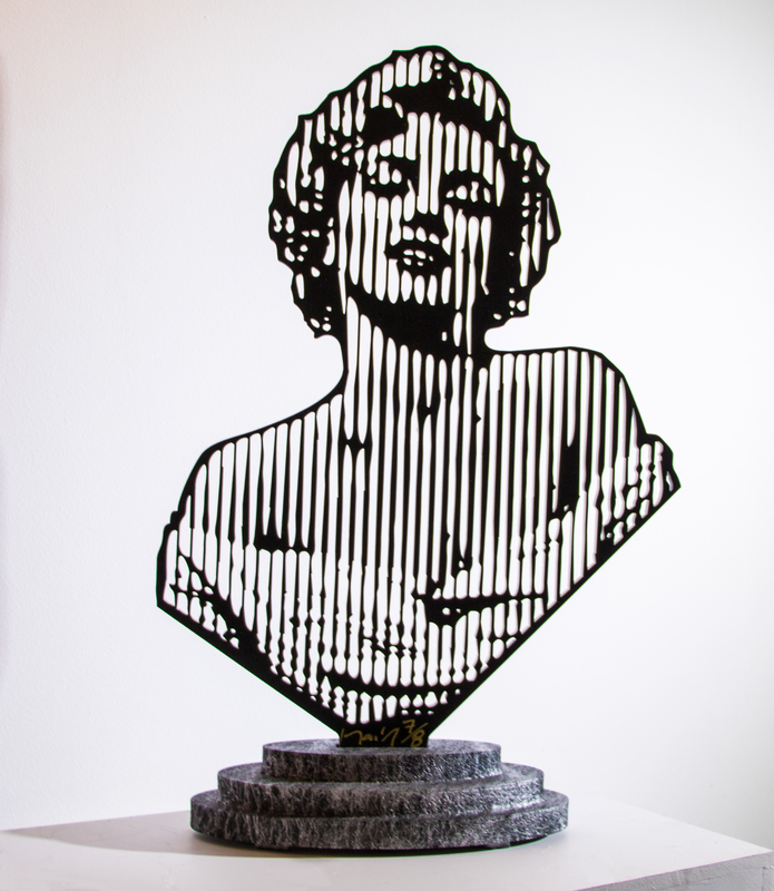 Marcos MARIN - Sculpture-Volume - Maryline Shoulders