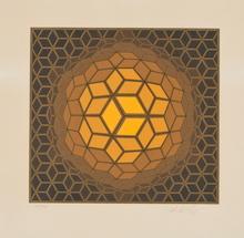 Victor VASARELY - Print-Multiple - Hexa-Fra