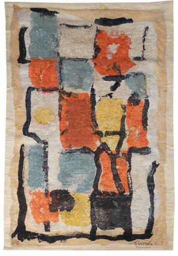 Roger BISSIÈRE - Tapestry - Composition