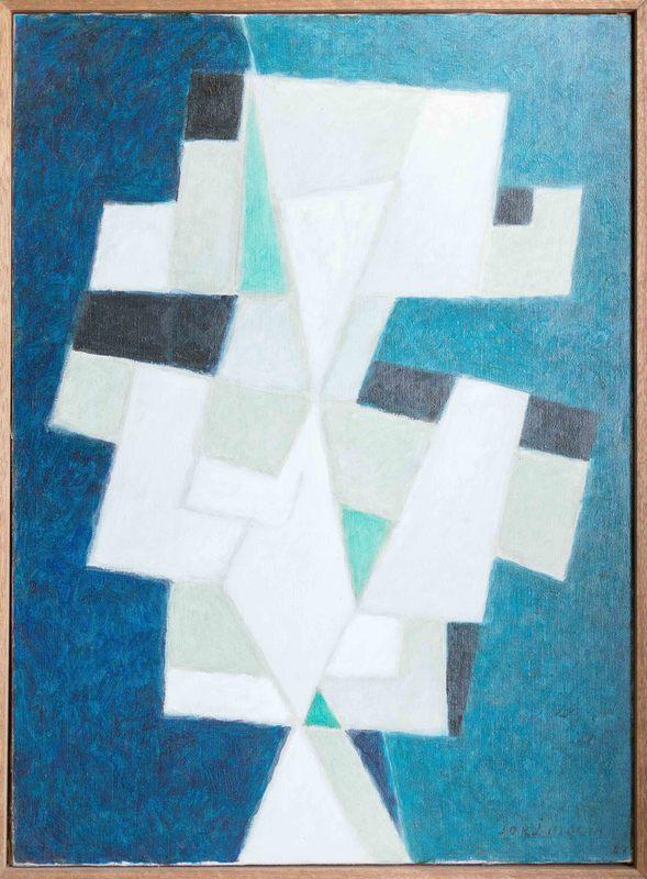 Jorj MORIN - Painting - Equilibre fragile