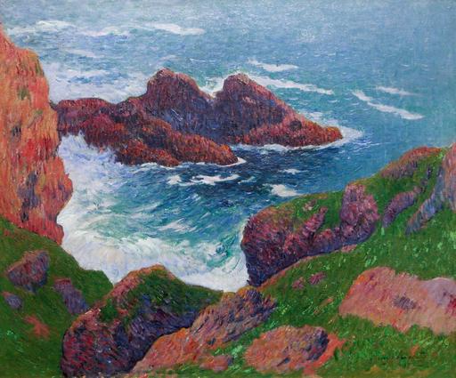 Henry MORET - Pintura - Cote du large