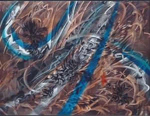 Didier ANGELS - Peinture - Fonds marins