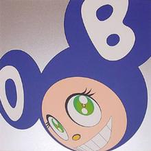 Takashi MURAKAMI (1962) - AND THEN . . . blue
