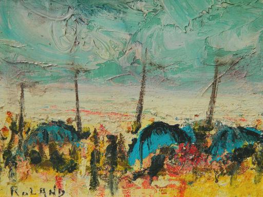Henry ROLAND - Pintura - PAYSAGE - LANDSCAPE - PLAGE